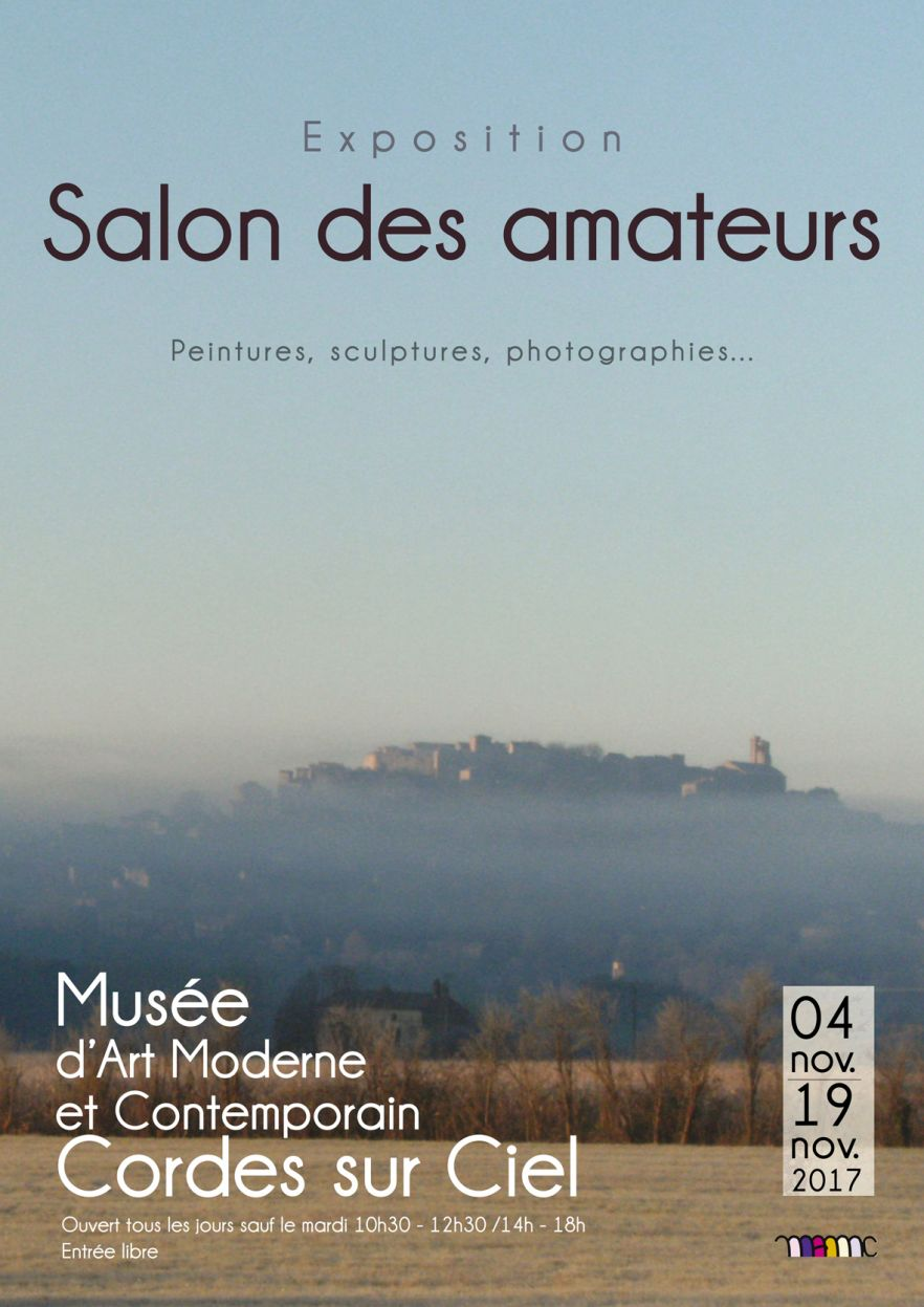 affiche Salon des Amateurs 2017