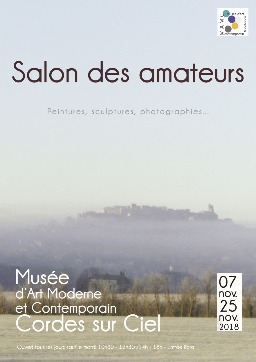 affiche Salon des Amateurs 2018