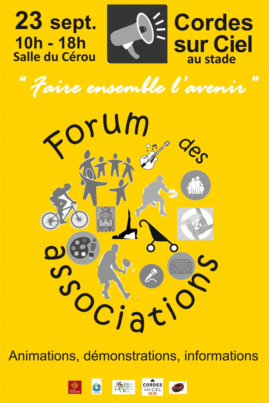 Forum des associations de Cordes sur Ciel