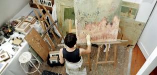 Les peintures d'Elisabeth Gore au Mamc